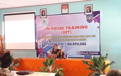 IHT bagi Guru SMP Negeri 1 Balapulang